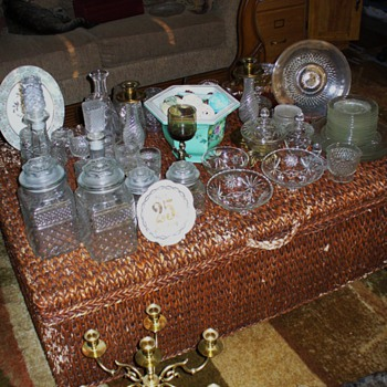 Crystal Lot - Glassware