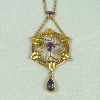 Four Liberty & Co Art Nouveau Jewellery Items by Archibald Knox and Jessie King - Fine Jewelry