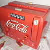1950 Coca-Cola Cooler Radio