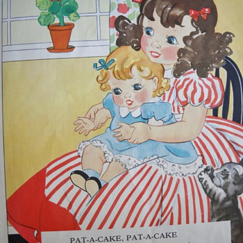 1937 NURSERY RHYMES BOOK - MORE PICTURES
