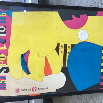 SPOLETO 1967 RICHARD LINDNER advertising poster - Posters and Prints