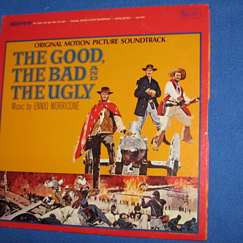 1967 VINTAGE RECORD: THE GOOD, THE BAD & THE UGLY  - Records