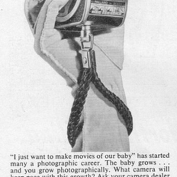 1954 - Bolex B-8 Movie Camera Advertisement - Advertising