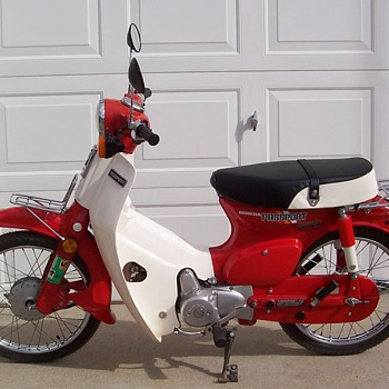 1982 Honda C70 Passport