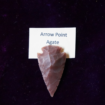Agate Arrow Point