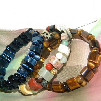 Semi Precious Stone Bracelets - Help Identify?