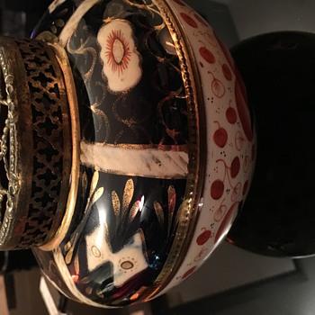 Imari rose bowl or incense holder