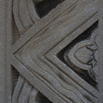 Verizon Building, Wilkes-Barre, PA…Art Deco Detail