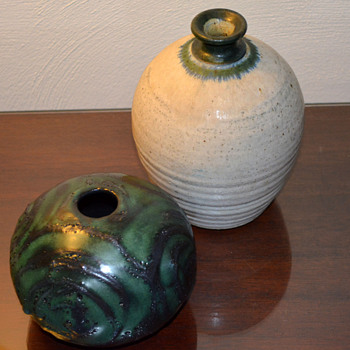 Vases found on recent road trip in Virginia - Art Pottery
