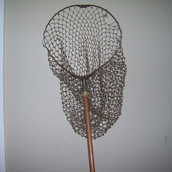 vintage fishing net  - Fishing