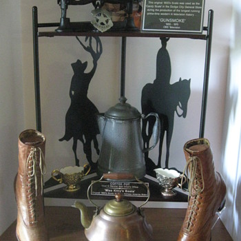 'GUNSMOKE' . . . Authentic Memorabilia