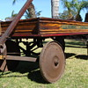 Early 1900 SHERWOOD SPRING COASTER wooden wagon survivor!
