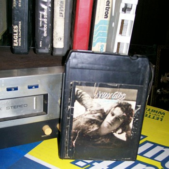 One of my 8 track player/ Recorder and some 8 track tapes