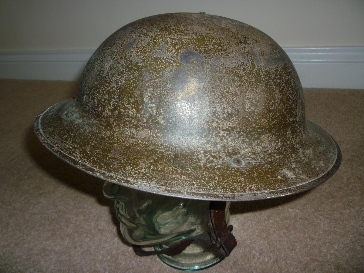 Standard British Ww1 Steel Helmet Collectors Weekly