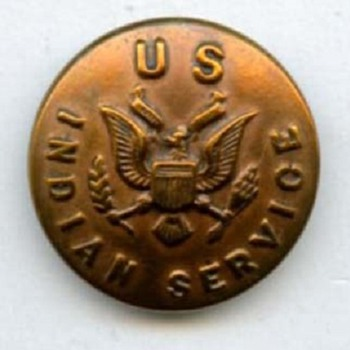 U.S. Indian Service uniform button - Sewing