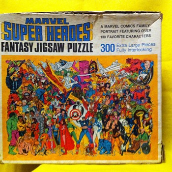 Marvel universe puzzle pub post