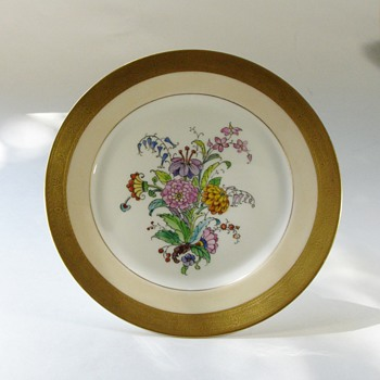 Rosenthal Selb Bavaria & Pickard plate - China and Dinnerware