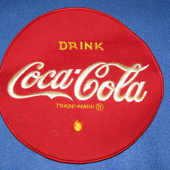 Vintage Coca-Cola Patch - Coca-Cola