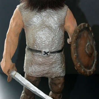 1960's NYFORM VIKING WARRIOR #130 Handmade Troll Doll Norway