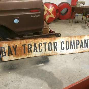 Bay Tractor Company sign