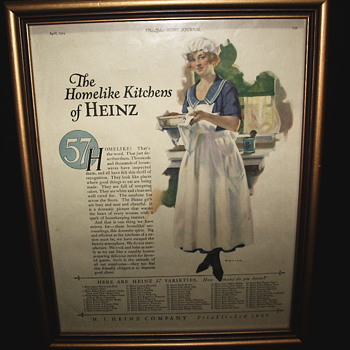 "Heinz Advertising""The Ladies Home Journal""April 1924,Page 121"