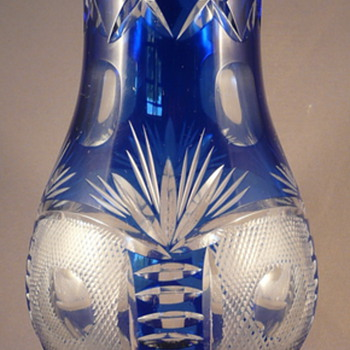 FINELY CUT CRYSTAL GLASS, BOHEMIAN OR FRENCH ? - Art Glass