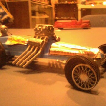 Korris Kars Sling SHot dragster...  1/25 scale... - Model Cars