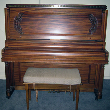 Vose and Sons Upright Piano - Music
