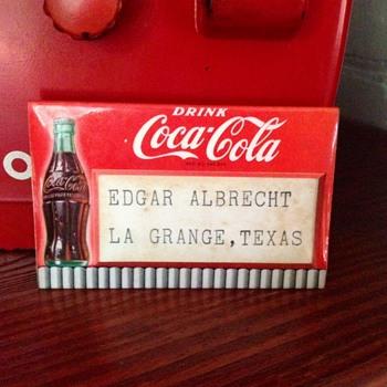 Coca Cola 1950 Convention Badge - Coca-Cola