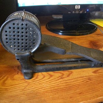 SOLVED.....Cast iron foot pedal