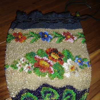 Antique beaded purse