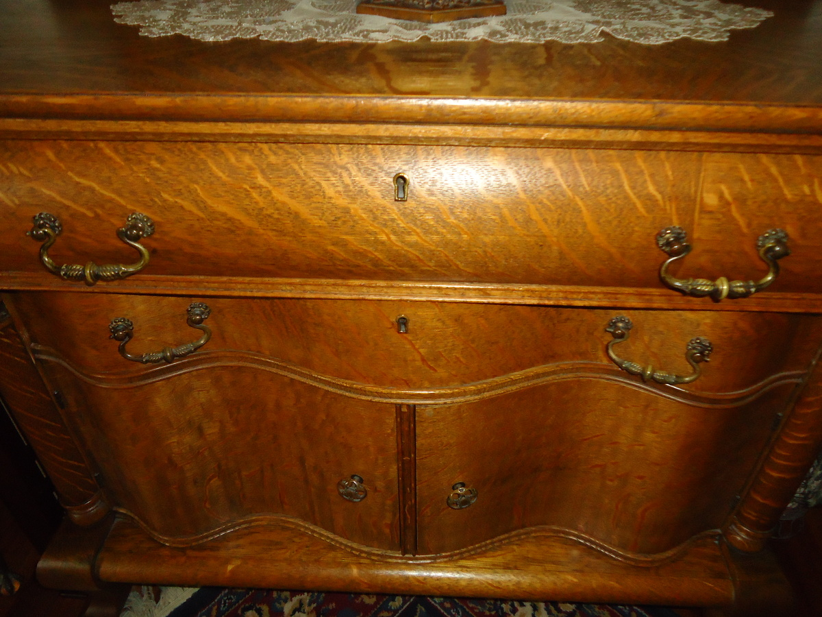 Antique Tiger Oak Furniture ~ FlodingResort.com