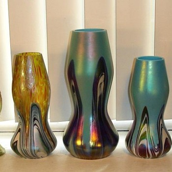 Rindskopf - Collect by Shape or Decor - Art Glass