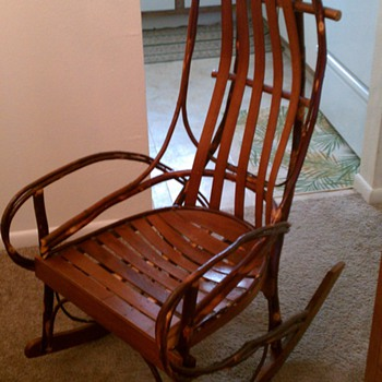 Amish Hickory Rocker - Furniture