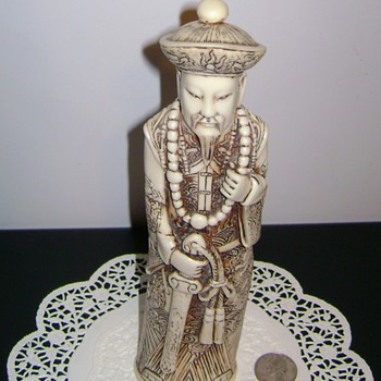 Chinese Emperor Figure - Figurines