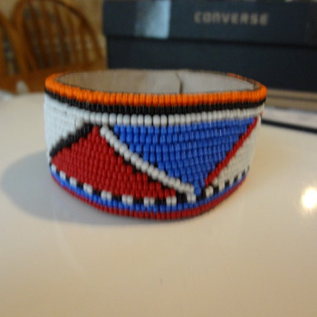 pritty bead work - Native American
