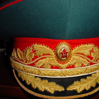 Parade Visor Cap of a Marshal of the Soviet Union - Military and Wartime
