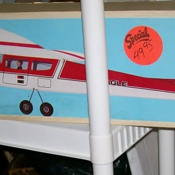Rivertrout posted a airplane and I thought I would post one of mine :-) - Toys