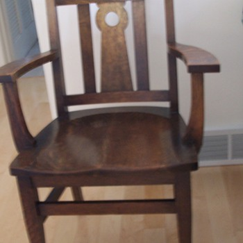 Oak Chair - Furniture
