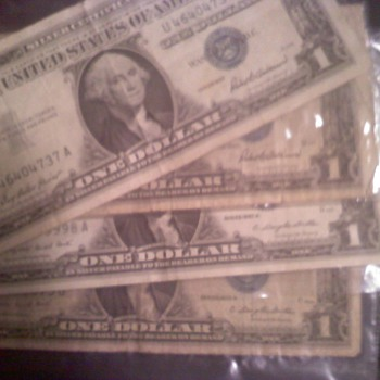 Silver certificate's - US Paper Money