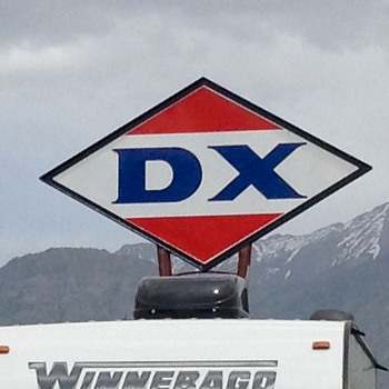 DX Gasoline - Petroliana
