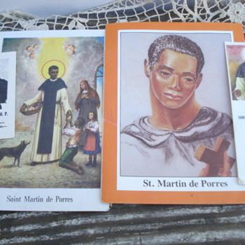 St. Martin De Porres Relics Novena Prayer Cards - Paper