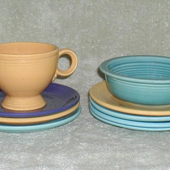 Fiestaware Dishes - China and Dinnerware