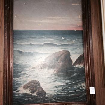 Fine Mystery Painting? Artist? - Visual Art