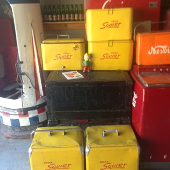 Squirt Cooler Collection  - Advertising