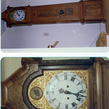Grandfather Clock (1790) made by Johann Golter