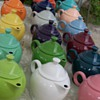 Fiestaware teapots