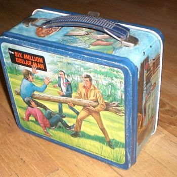 The Six Million Dollar Man Lunch Box