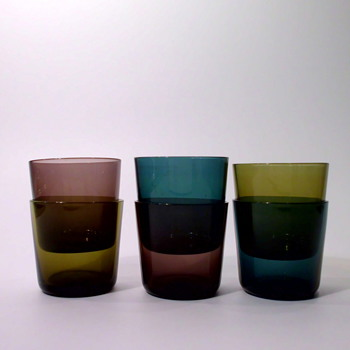 Small Wiesenthal tumblers from 1959