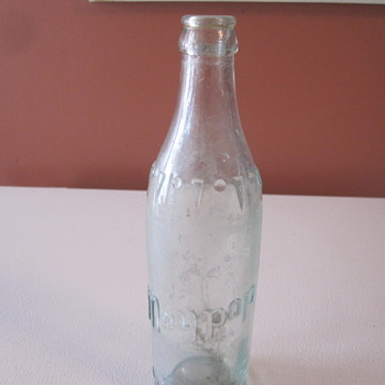 Vintage Maypop Soda Bottle